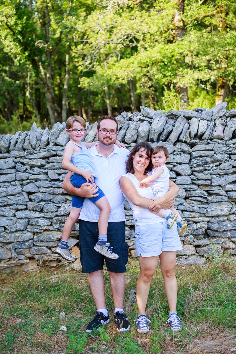 Photos de famille dans le Lot 7