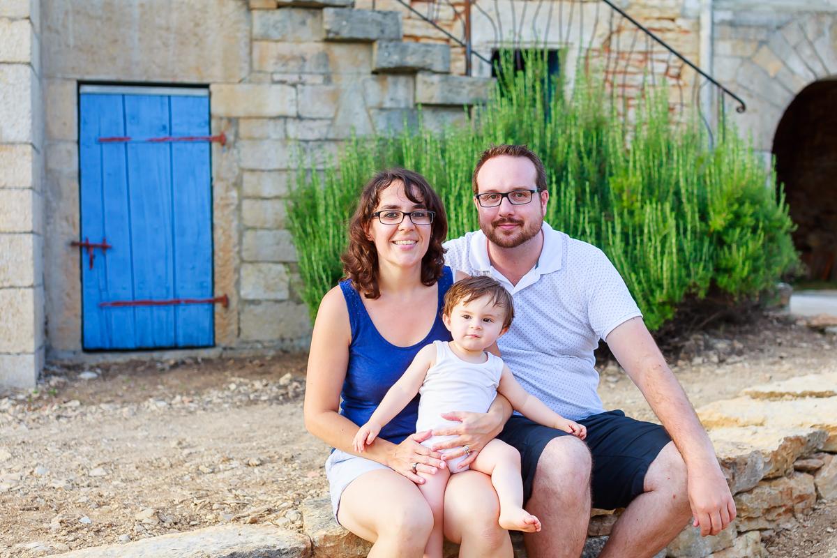 Photos de famille dans le Lot 24