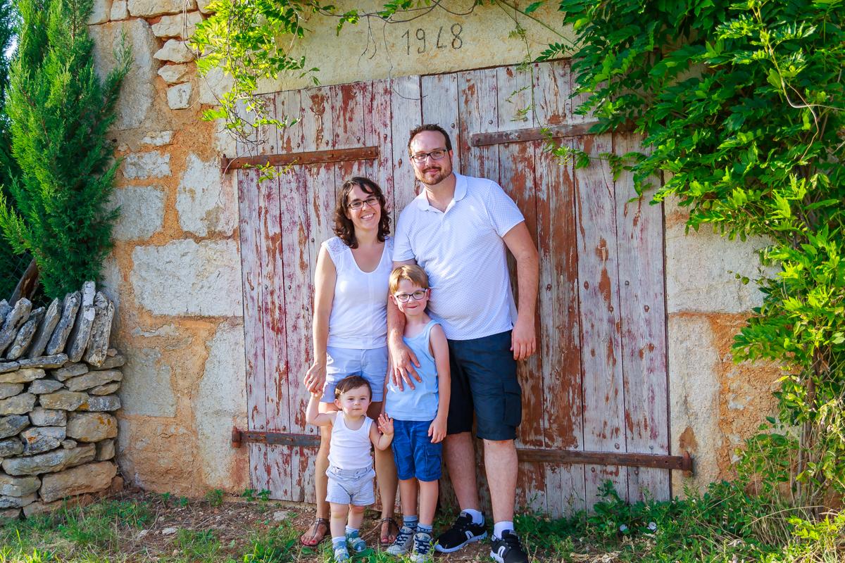 Photos de famille dans le Lot 12