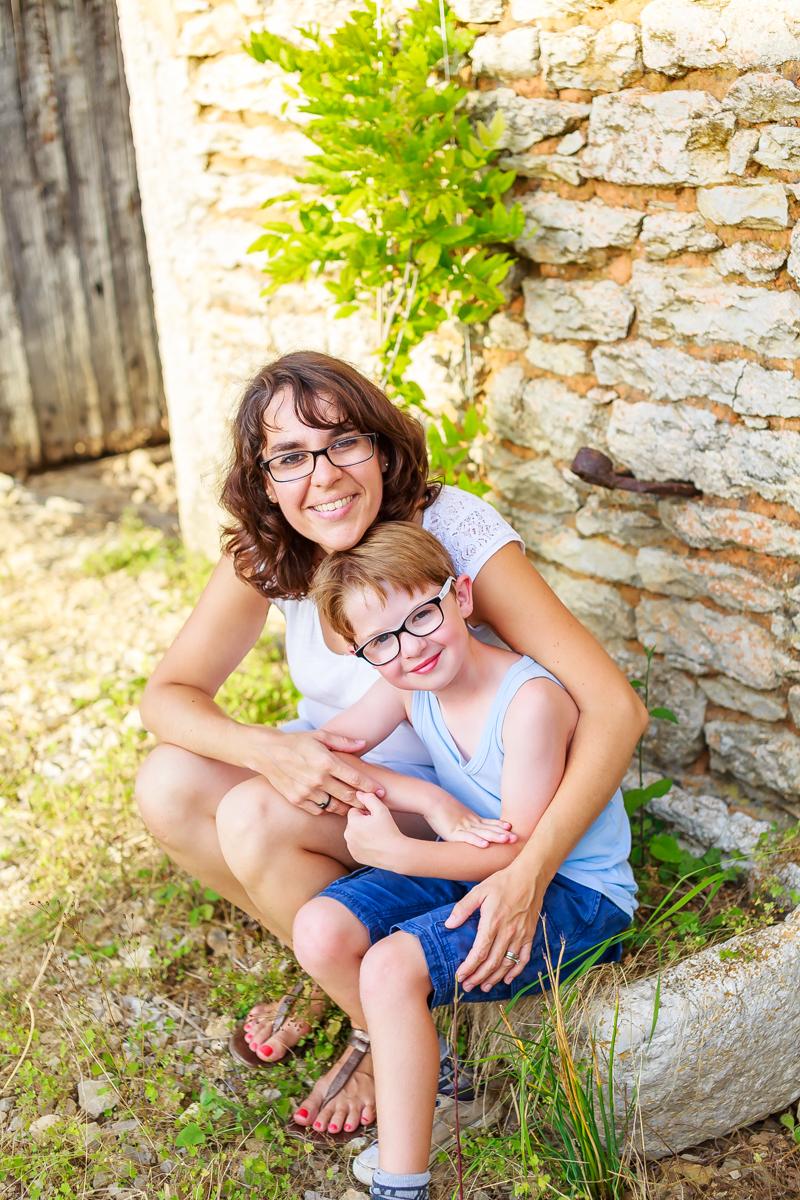 Photos de famille dans le Lot 18