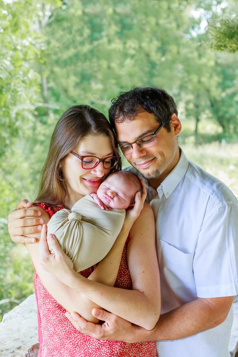 Séance nouveau-né et famille à Cahors 4