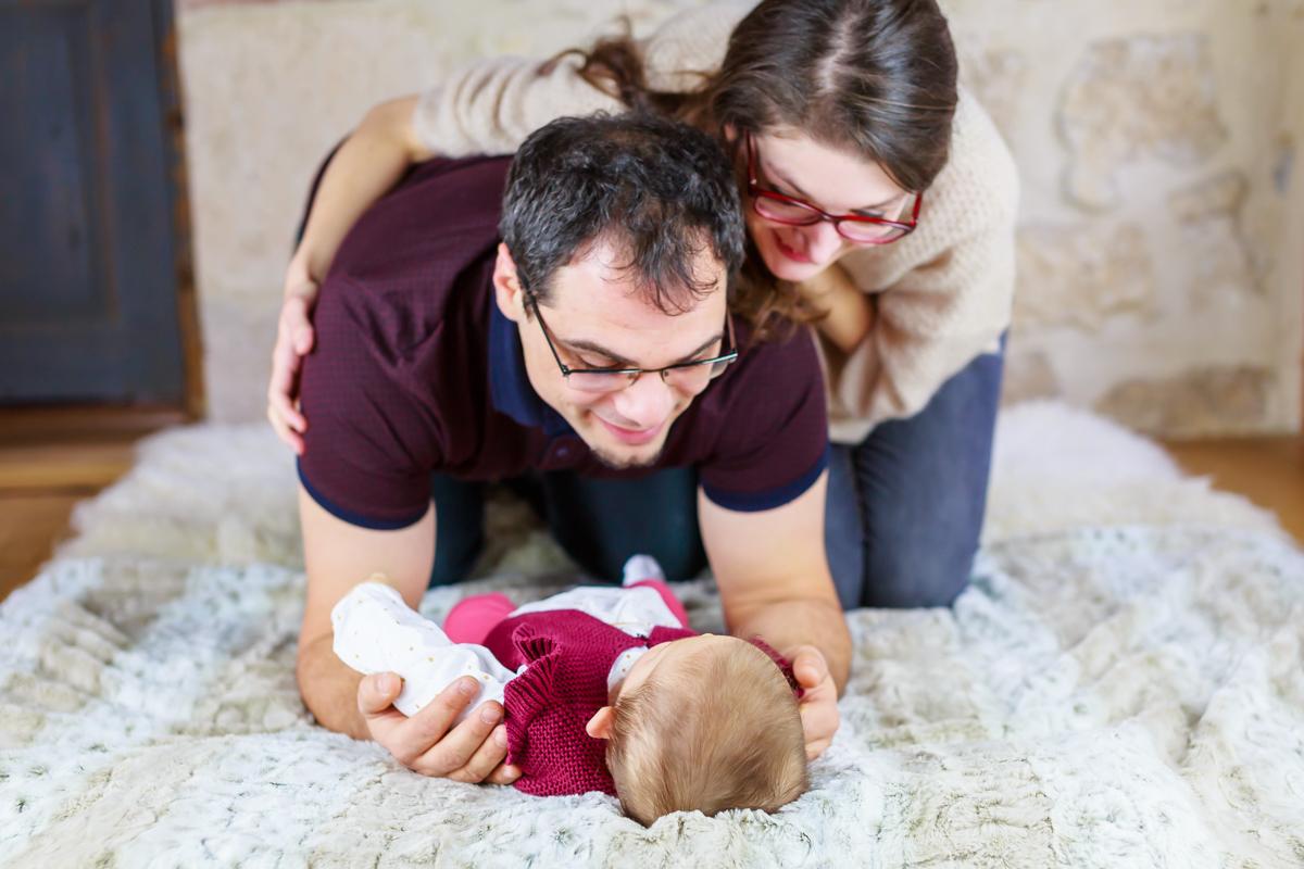 Séance nouveau-né et famille à Cahors 15