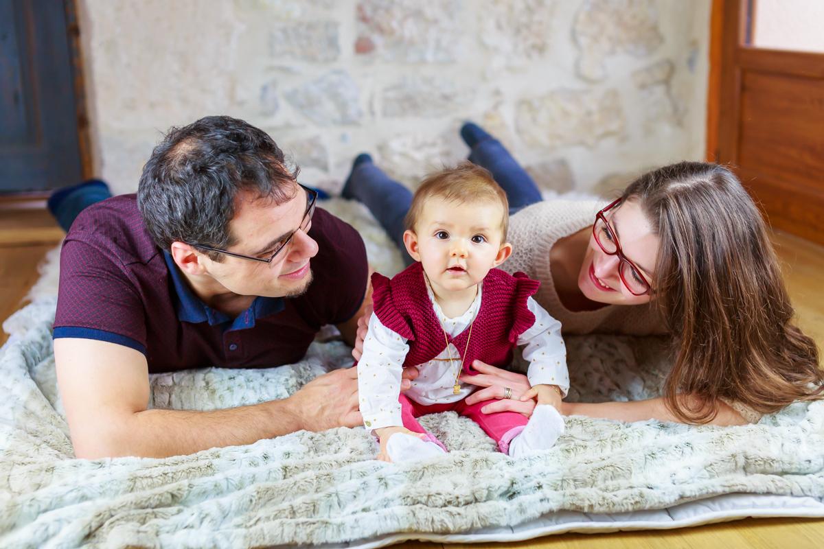 Séance nouveau-né et famille à Cahors 16