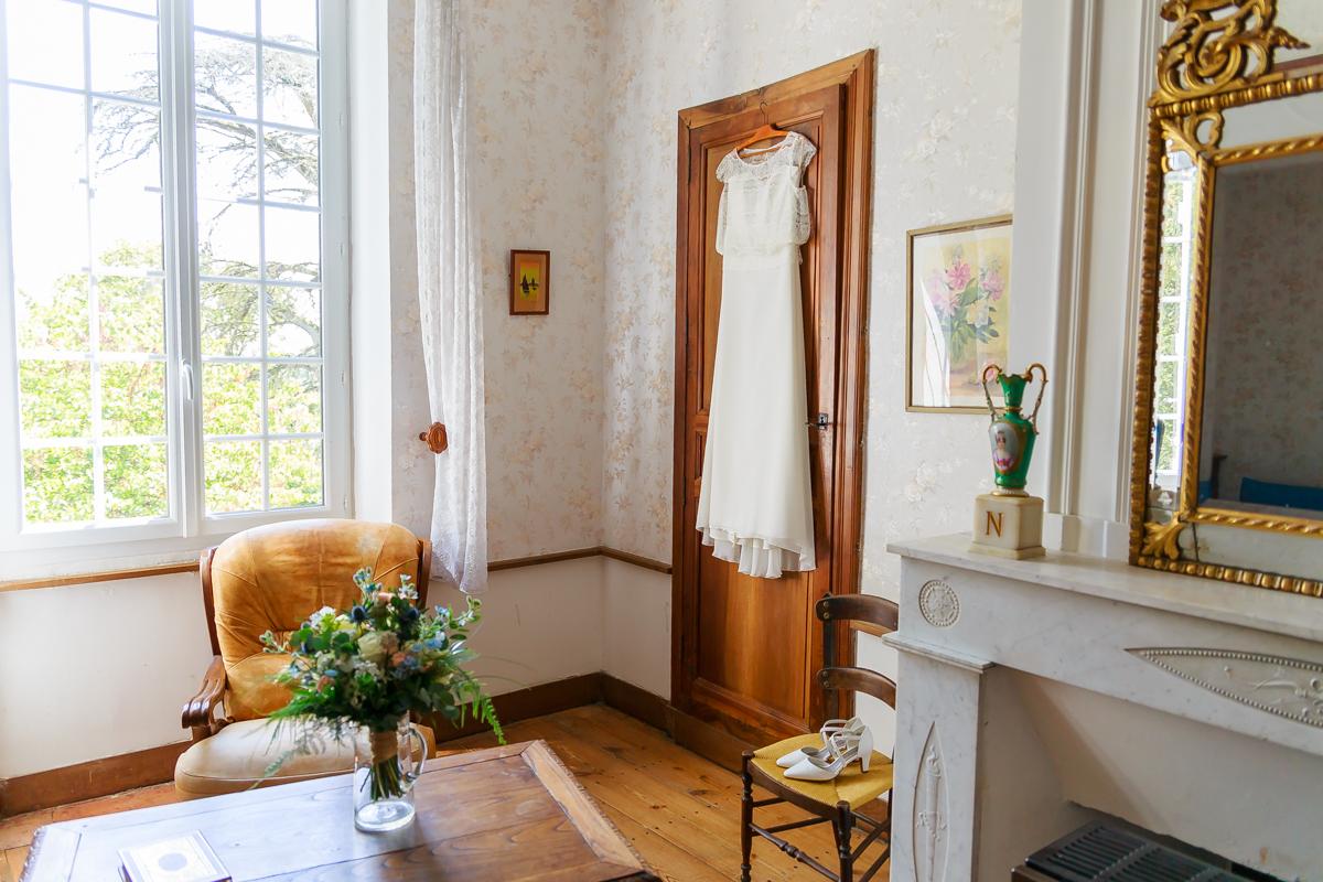 Photos mariage château Calignac