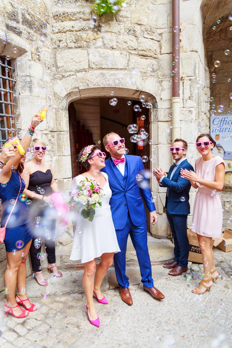 photographe mariage fumigènes 24
