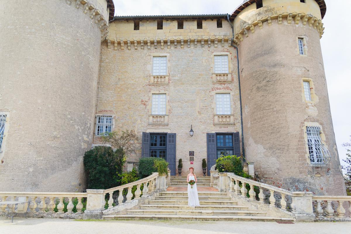 Mariage au château de Mercuès