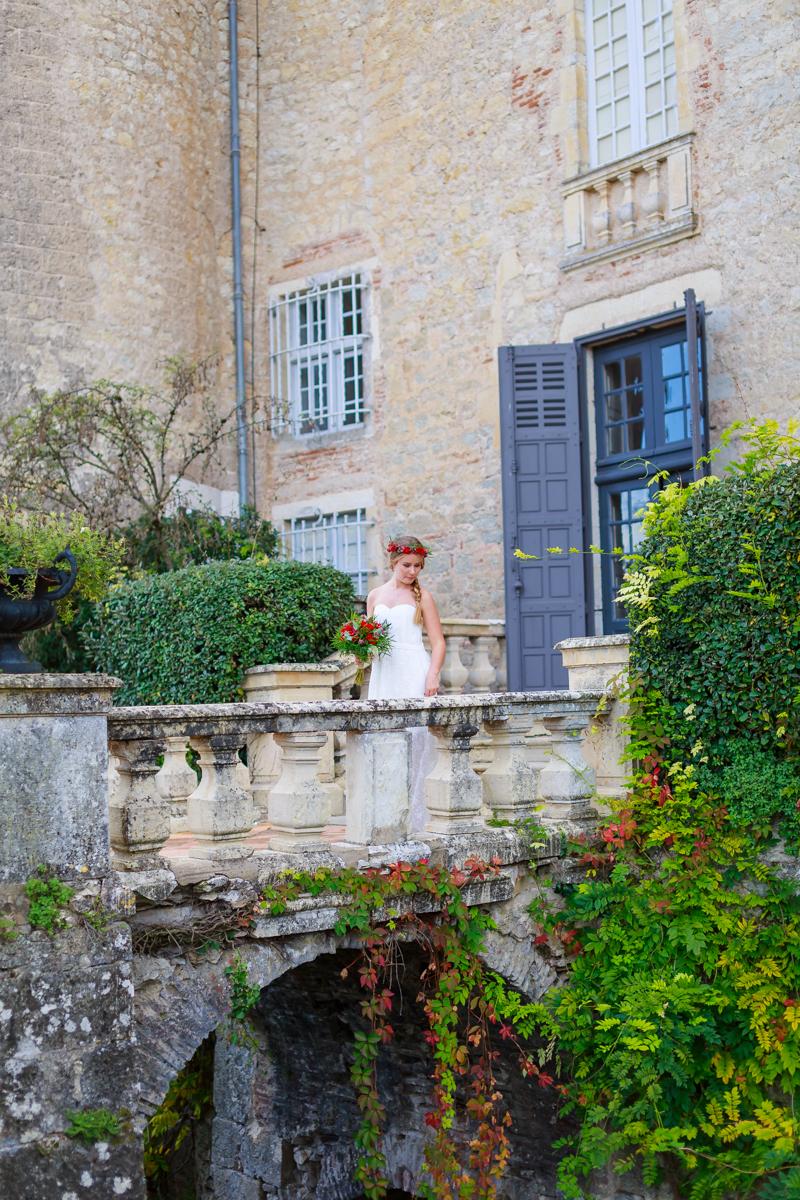 photographe mariage au château de Mercuès