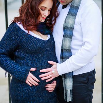 Séance grossesse à Paris