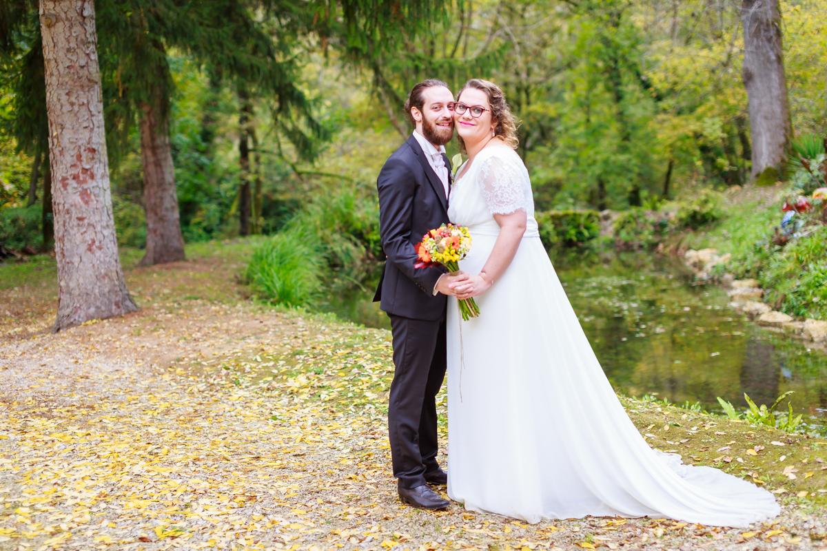 mariage fun aux couleurs de l'automne