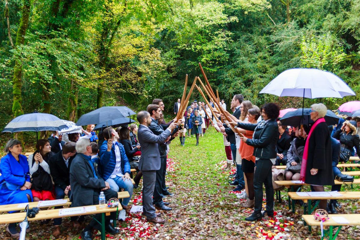mariage fun aux couleurs de l'automne figeac