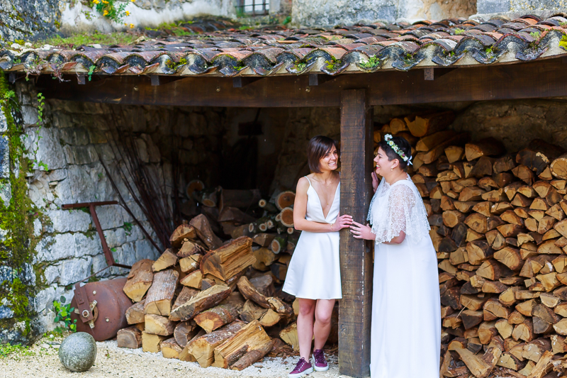 photographe mariage dans un château