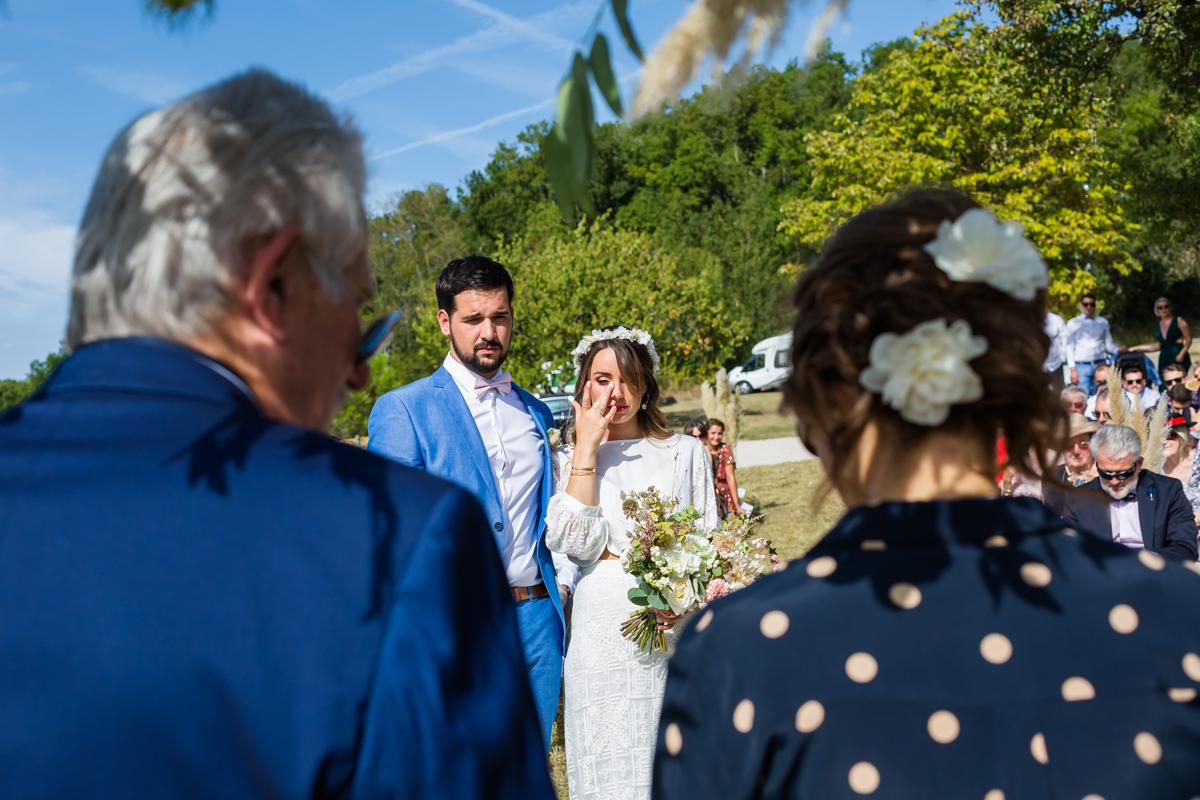 photographe mariage domaine de massoulac