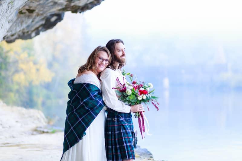 photos de couple dans le Lot