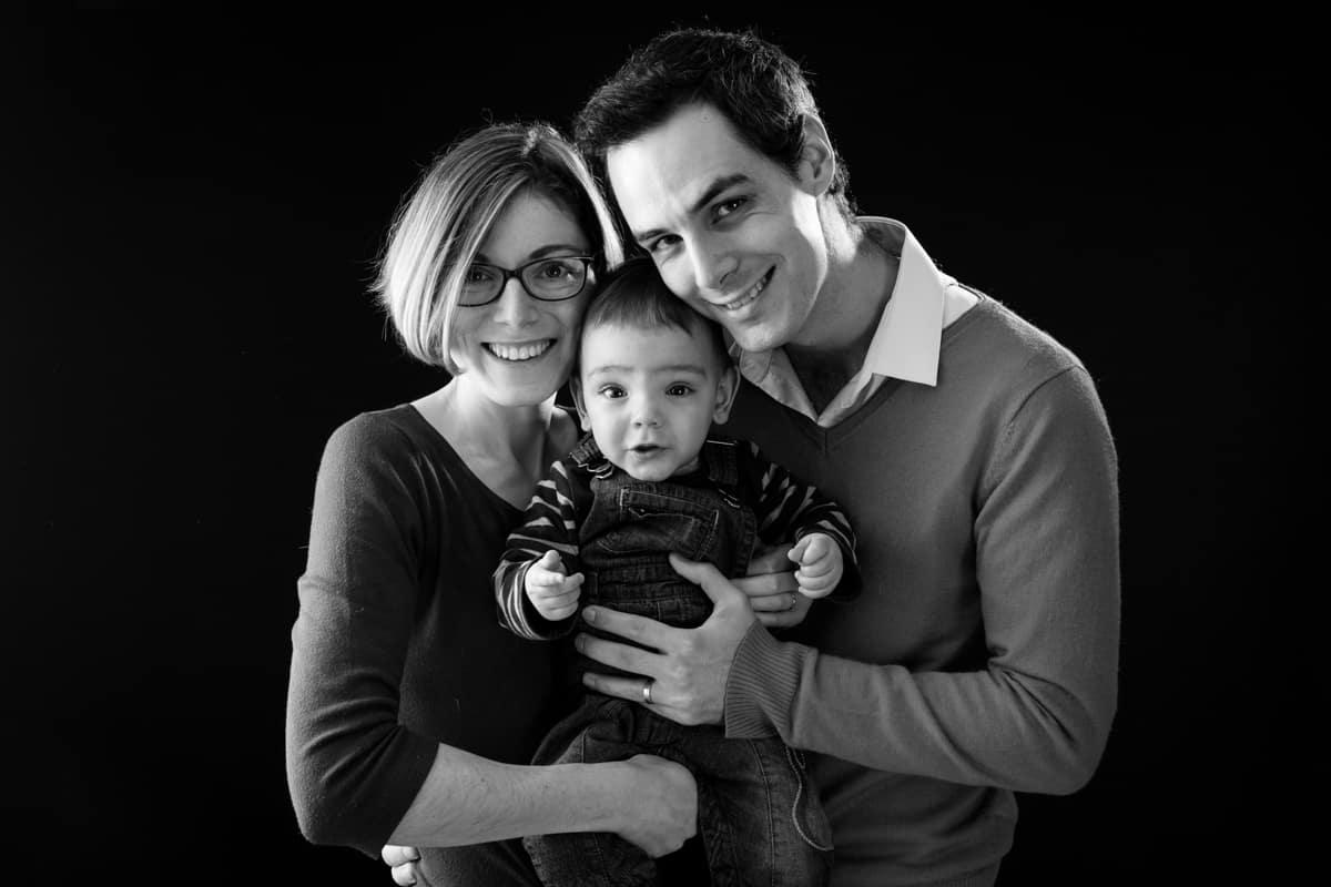 séance photo famille studio cahors